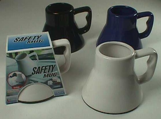 CK1132 CERAMIC CAR SAFETY MUG