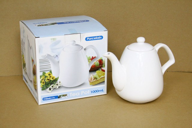 CK1155 CERAMIC TEAPOT (1000ML)