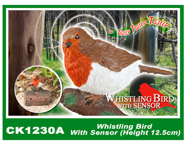 CK1230A Whistling Bird With Sensor (Height 12.5cm)