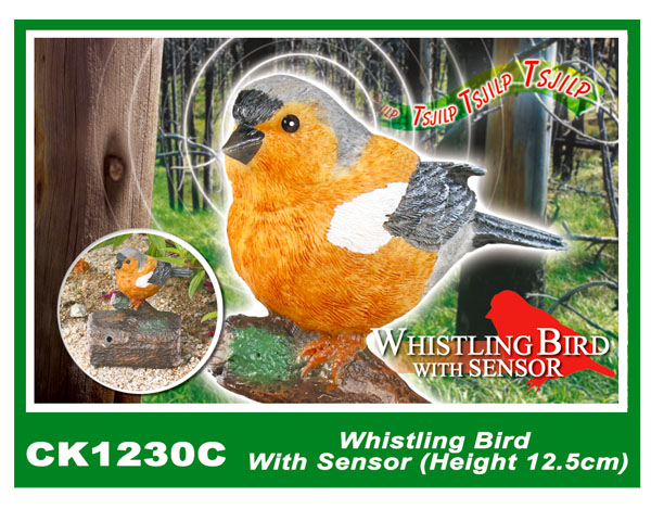 CK1230C Whistling Bird With Sensor (Height 12.5cm)