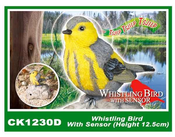 CK1230D Whistling Bird With Sensor (Height 12.5cm)