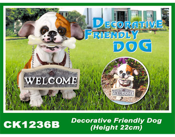 CK1236B Decorative Friendly Dog (Height 22cm)
