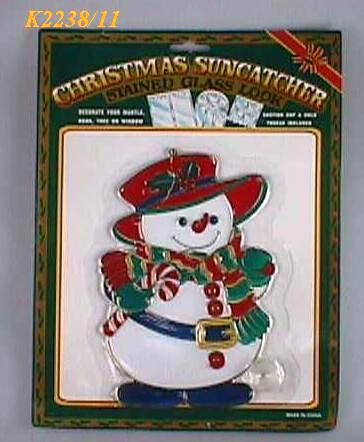 "K2238/11 8""INCH HEIGHT CHRISTMAS SUNCATHER"