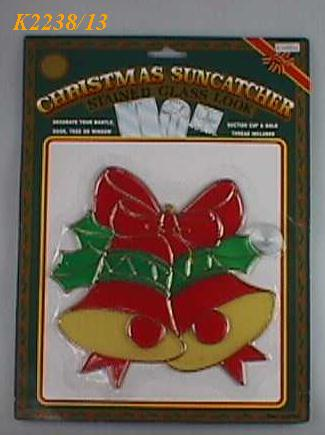 "K2238/13 8""INCH HEIGHT CHRISTMAS SUNCATHER"