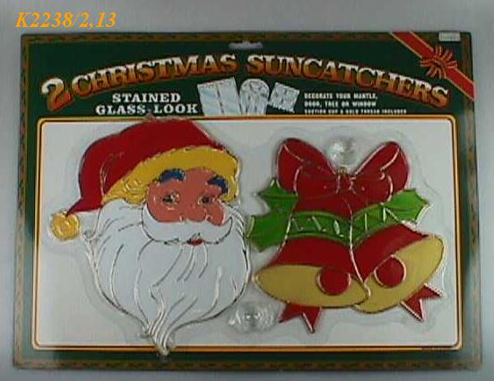 K2238/2,13 (SET OF 2) CHRISTMAS SUNCATHER -8' HIGH