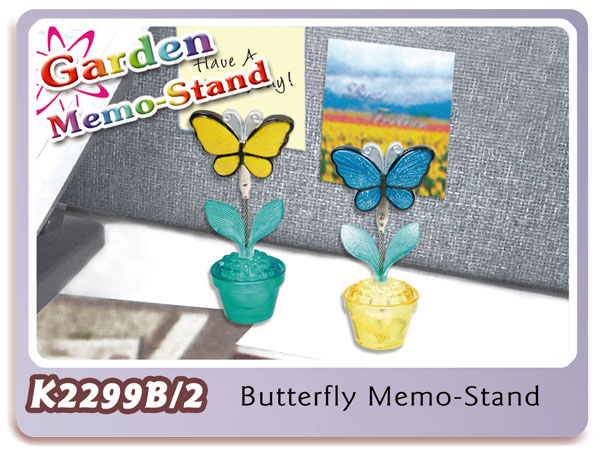 K2299B/2 Butterfly Memo-Stand