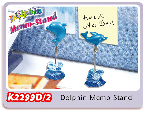 K2299D/2 Dolphin Memo-Stand