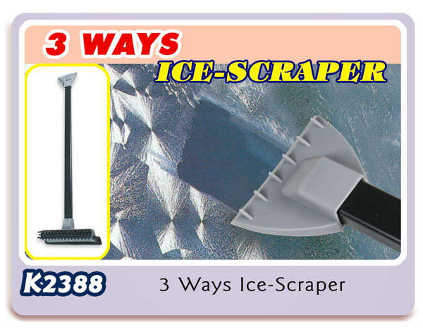 K2388 3 Ways Ice-Scraper