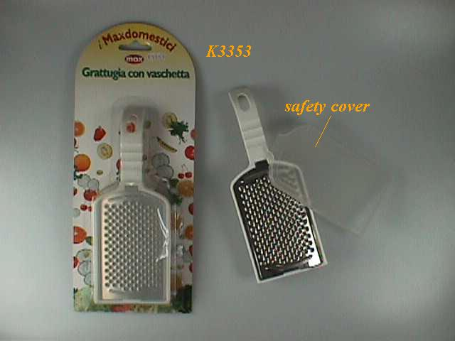 K3353 CHEESE GRATER W/CTR & LID