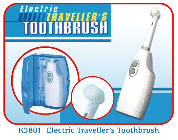 K3801 Electric Traveller's Toothbrush