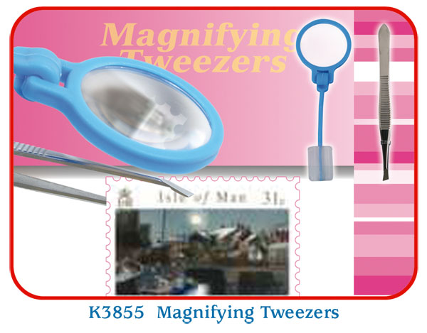 K3855 Magnifying Tweezers