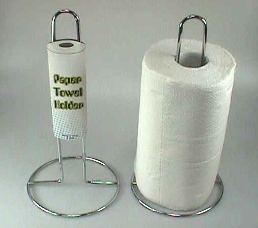 K5205 METAL WORE PAPER TOWEL ROLL STAND