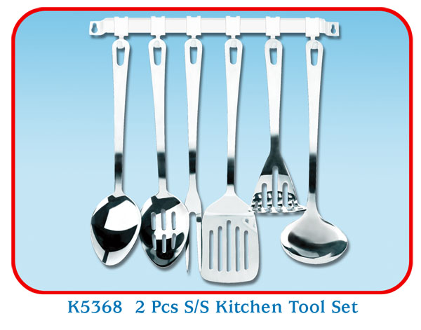 K5368 2 Pcs S/S Kitchen Tool Set