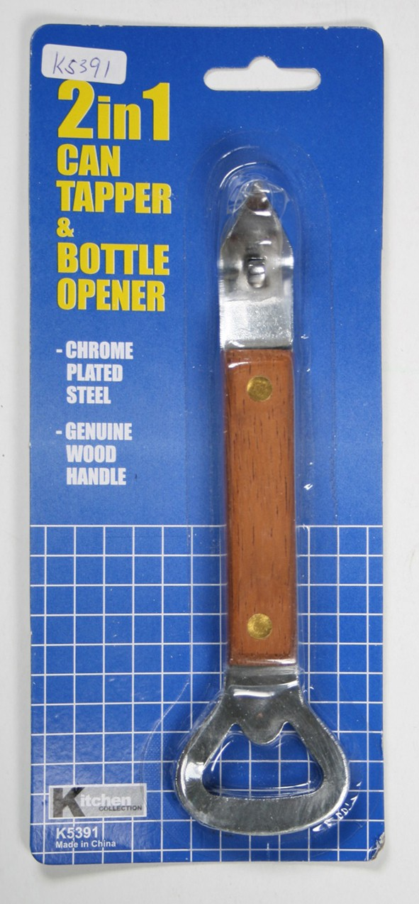 K5391 2 IN 1 CAN TAPPER & BOTTLE OPENER