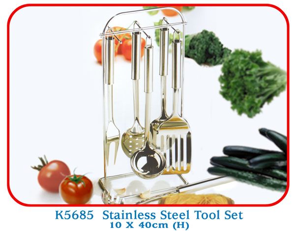 K5685 Stainless Steel Tool Set 10 X 40cm (H)