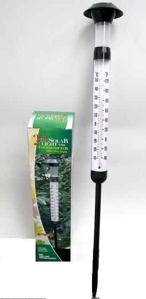K5750 2IN1 SOLAR LIGHT THERMOMETER (CAMO)