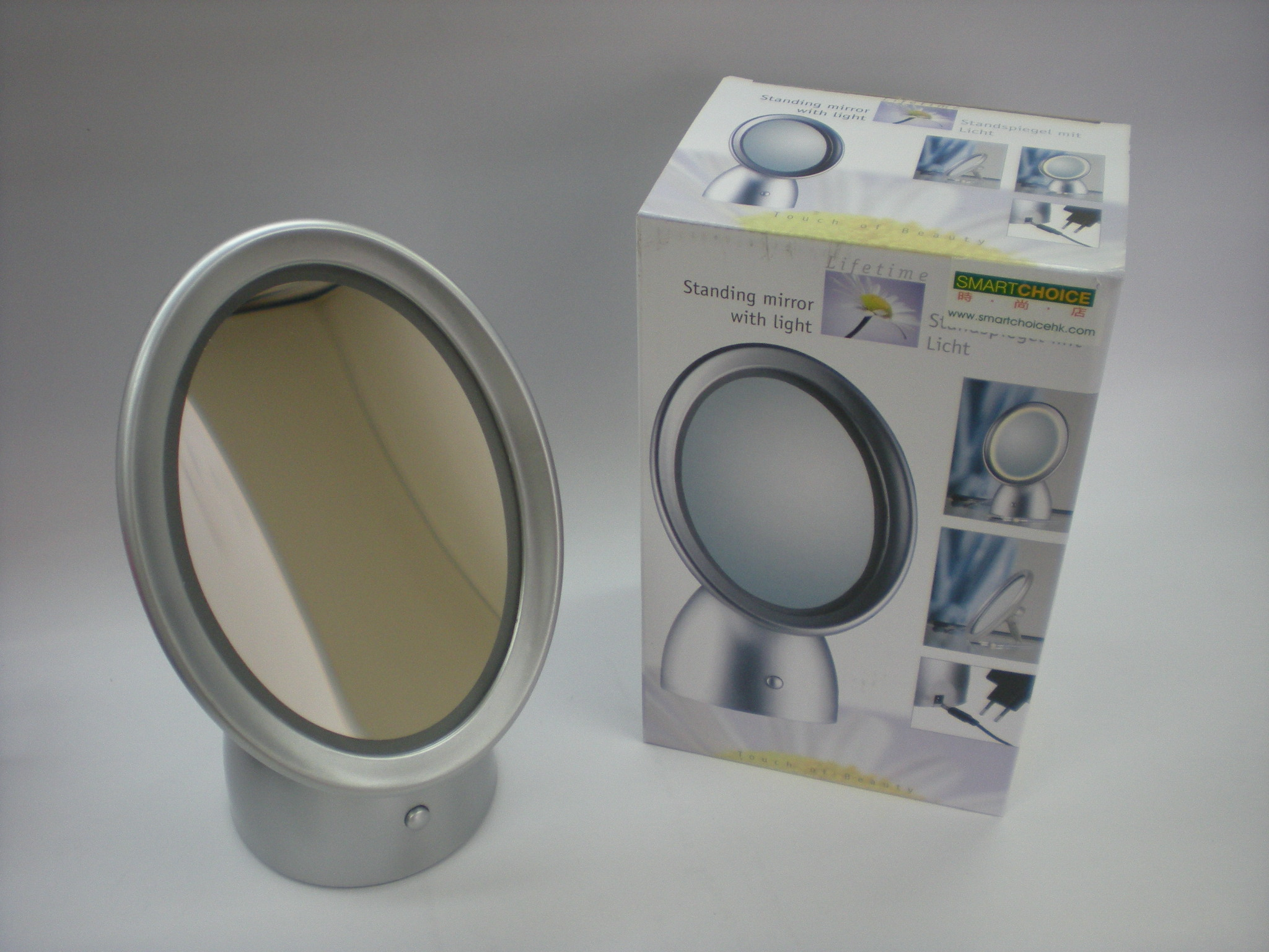 K6058 STANDING MIRROR WITH LIGHT