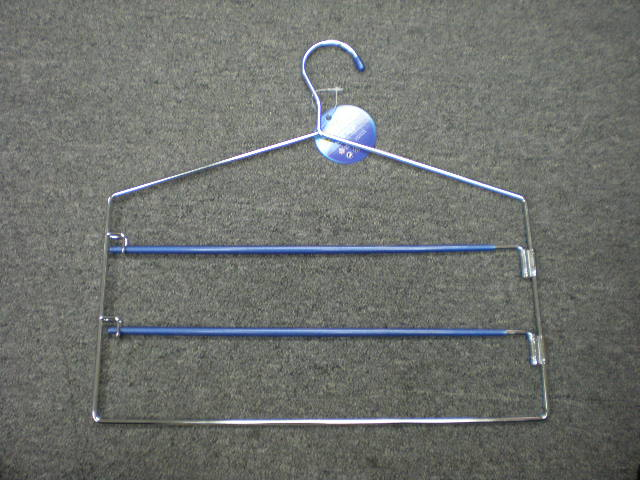 K6084 PANTS METAL HANGER W/NON-SLIP FUNCTION