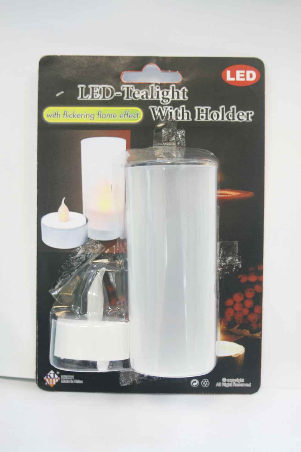 K6221 LED TEALIGHT WITH HOLDER SET