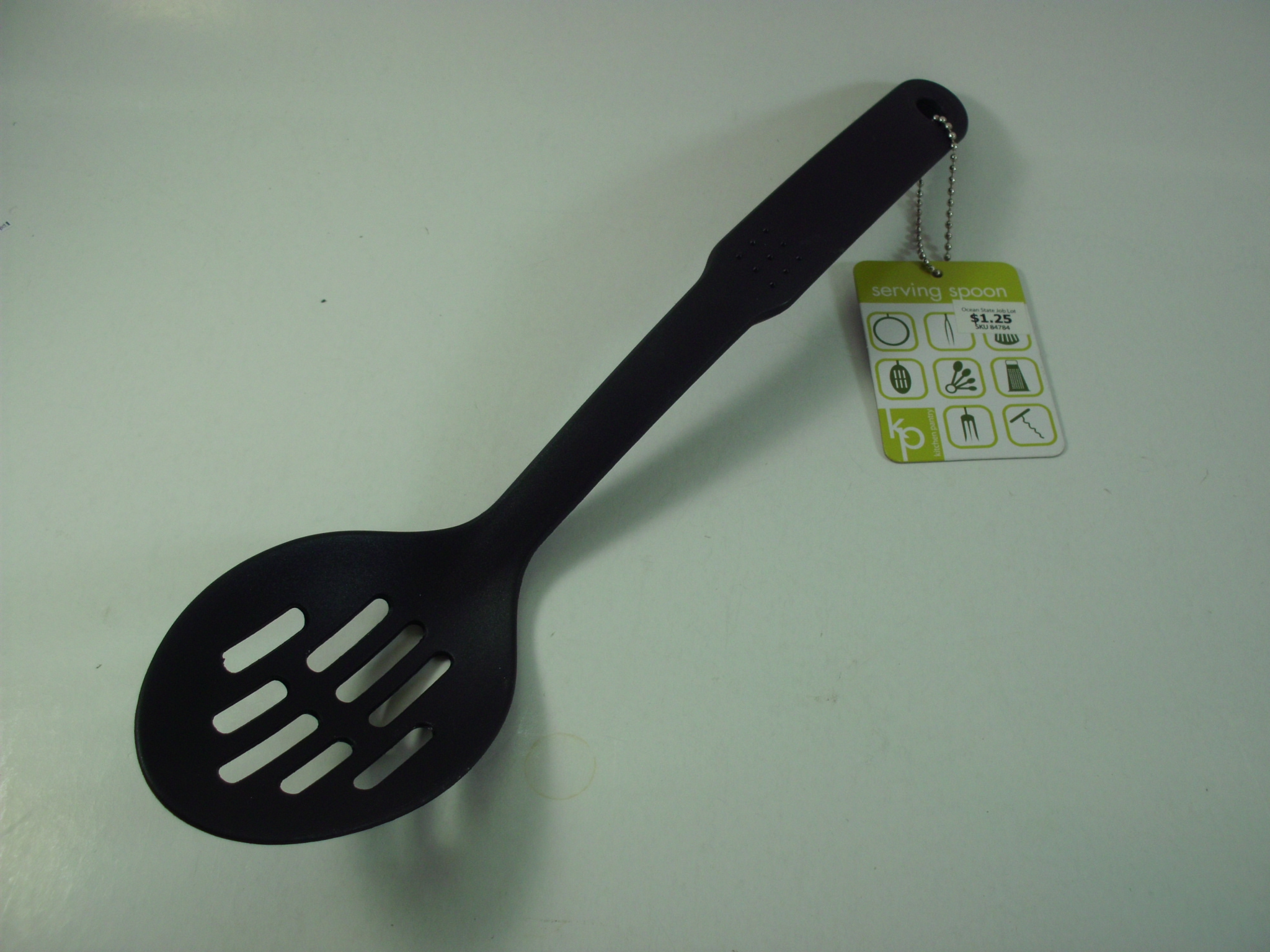 K6364 NYLON SLOT SPOON