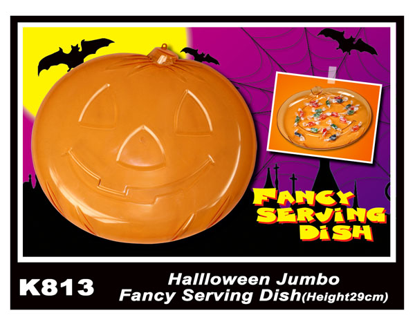 K813 Halloween Jumbo Fancy Serving Dish(Height29cm)