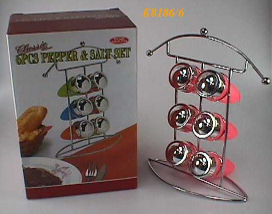 K8186/6B 6 PCS SPICE RACK