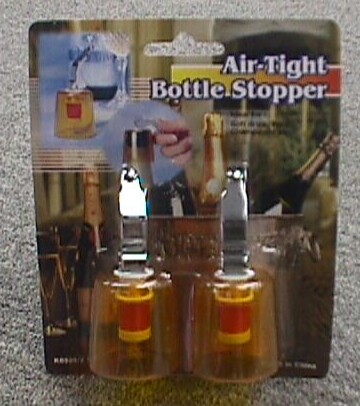 K8339/2 S/2 CHAMPAGNE BOTTLE COVER (AIR-TIGHT)