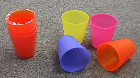 K8357/5 SET OF 5 DRINKING CUPS