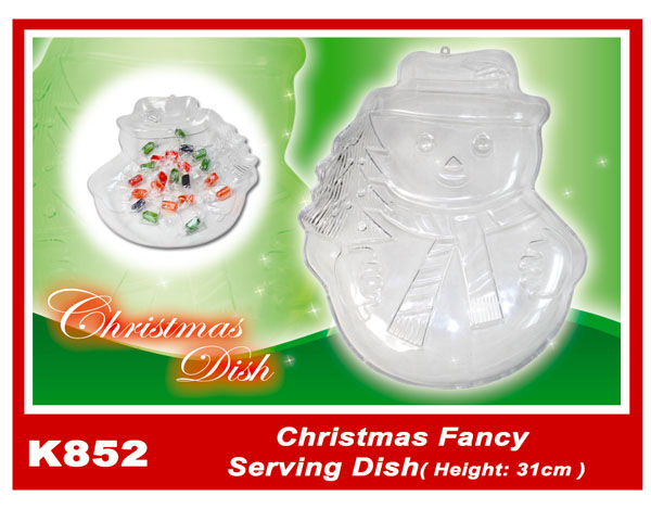 K852 Christmas Fancy Serving Dish (Height:31cm)