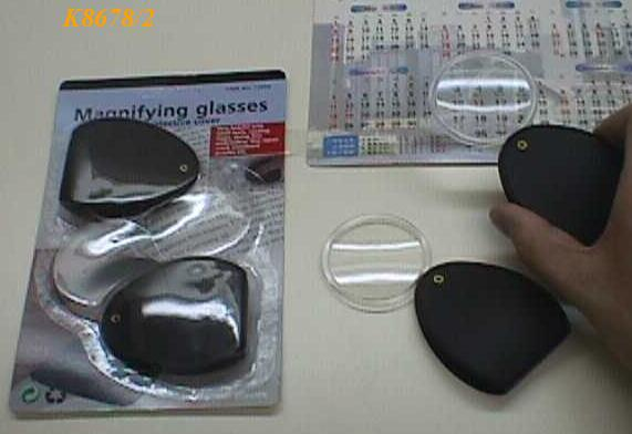 K8678/2 SET OF 2 MINI MAGNIFIER