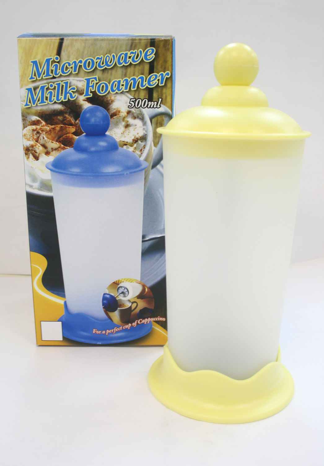 K8723A NEW CAPPUCINO CREAM MAKER (15CM) ROUND-BALL DESIGN