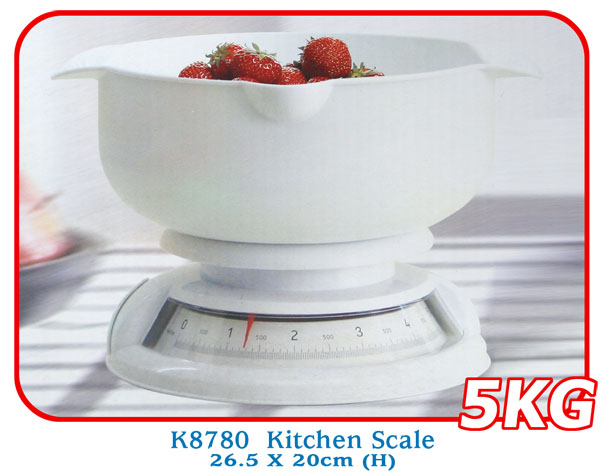 K8780 Kitchen Scale 26.5 X 20cm (H)