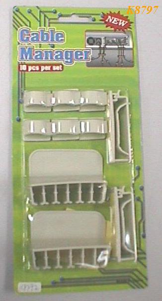K8797 CABLE MANAGER (10PCS)