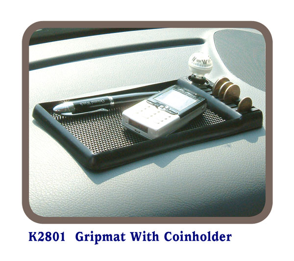 K2801 Gripmat With Coinholder