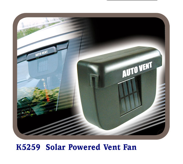 K5259 Solar Powered Vent Fan