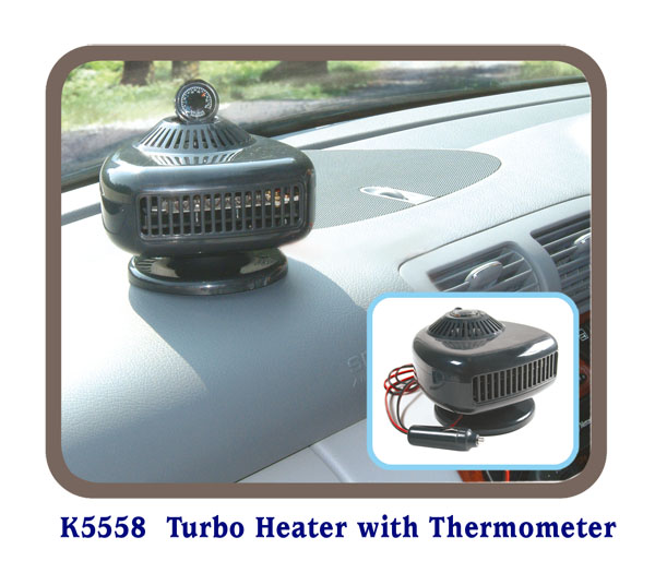 K5558 Turbo Heater with Thermometer